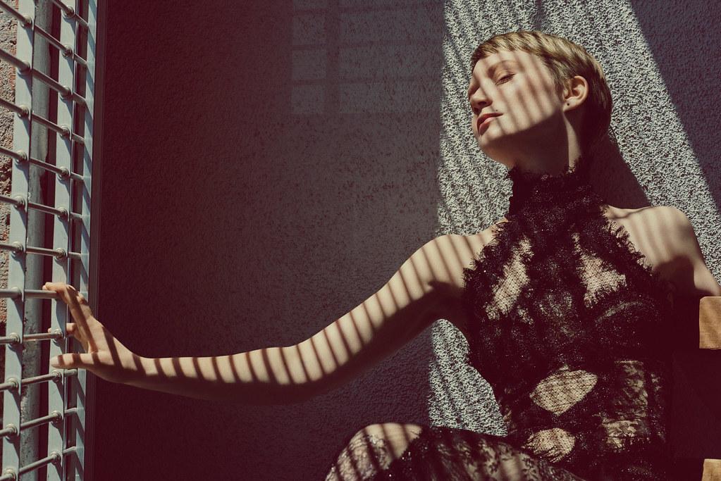 Миа Васиковска — Фотосессия для «Flaunt» 2015 – 7