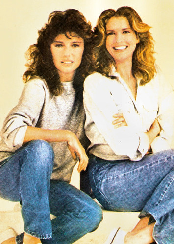 Jacqueline Bisset and Candice Bergen in Rich and Famous (1981)