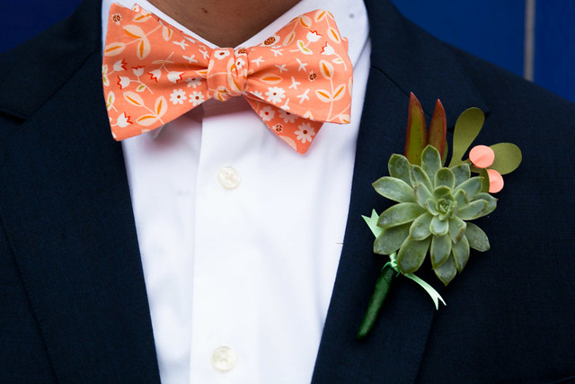 Phillip and Justin's Wedding at Palm Door in downtown Austin, Texas, lgbt wedding, gay wedding, a practical wedding, boutonniere
