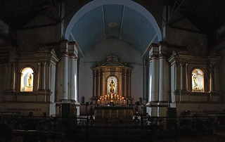 Ilocos Norte - Paoay Church altar