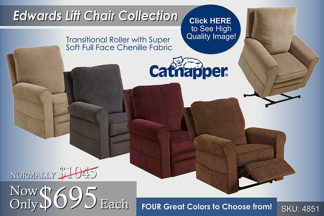 Edwards Lift Chairs by Catnapper