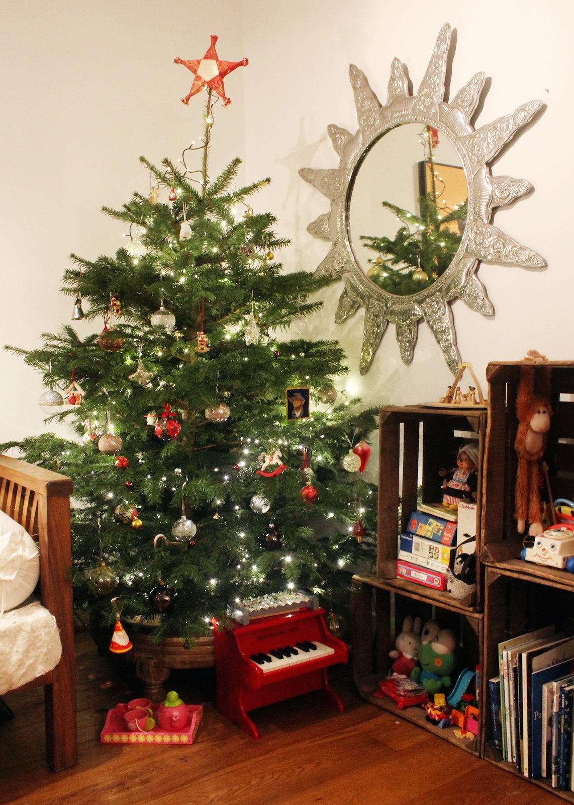 Our first Christmas tree in Amsterdam