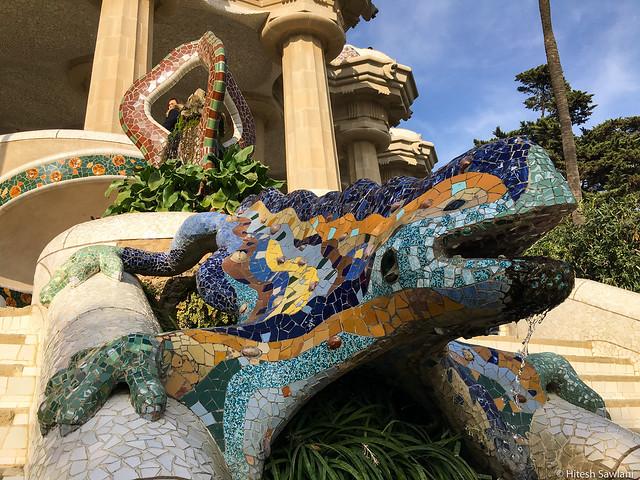 Parc Guell Salamander