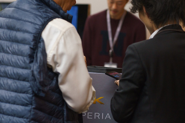 「Xperia Z5 タッチ&トライ」アンバサダーミーティング