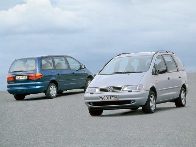 Минивэн Volkswagen Sharan. 1995 – 2000 годы