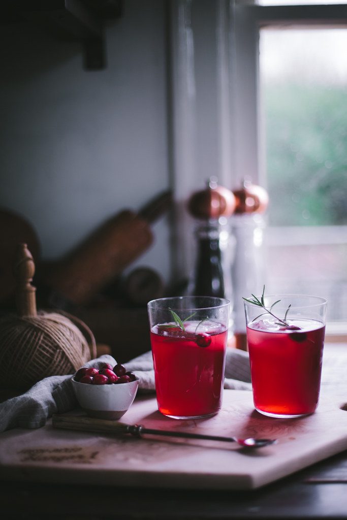 CranRaspberry Sparkler by Eva Kosmas Flores | Adventures in Cooking