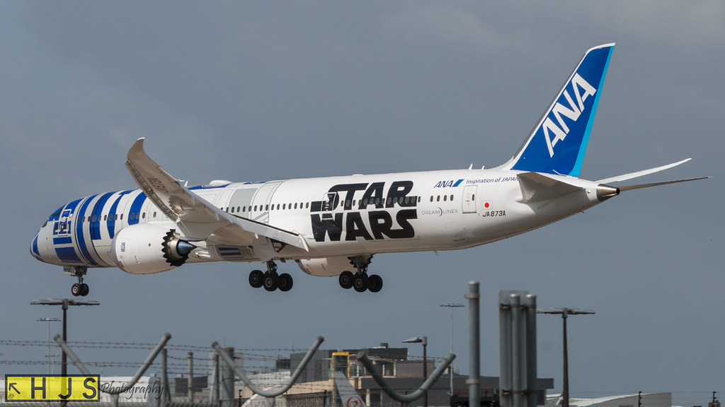 All Nippon Airways R2D2 Star Wars