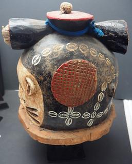 PC183393 f Janus helmet mask, Igala people, Nigeria. WA02531