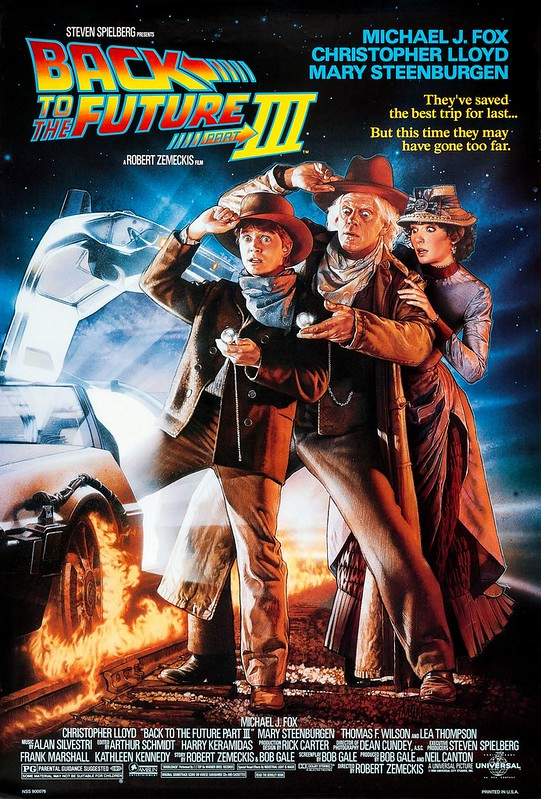 Back to the Future - Part III - Poster 1