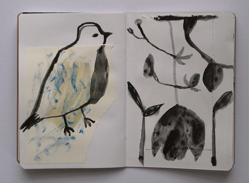 winter sketchbook