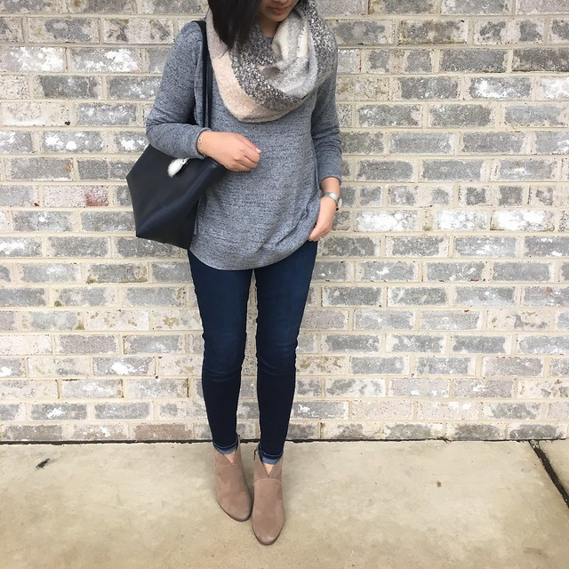 Lou & Grey Spacedye Slouch Sweater, size XXS regular