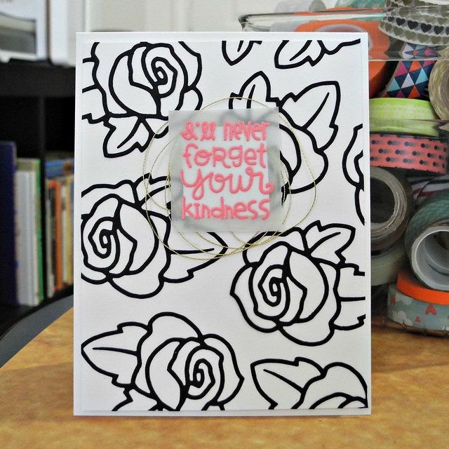I'll Never Forget by Jennifer Ingle #JustJingle #PaperSmooches #Cards