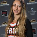 Pamela Abou Khalil, WolfPack Cheerleading Team
