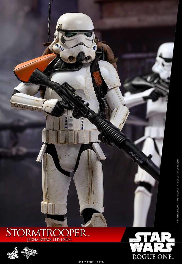 Hot Toys - MMS392 - 《星際大戰外傳:俠盜一號》1/6 比例 杰達巡邏風暴兵 (TK-14057) Stormtrooper Jedha Patrol