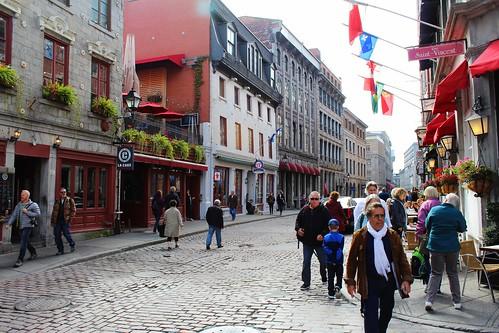 Rue Saint-Paul, Vieux-Montréal, Montreal, Quebec