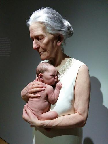 Escultura hiperrealista 1973-2016 @ Museo de Bellas Artes de Bilbao
