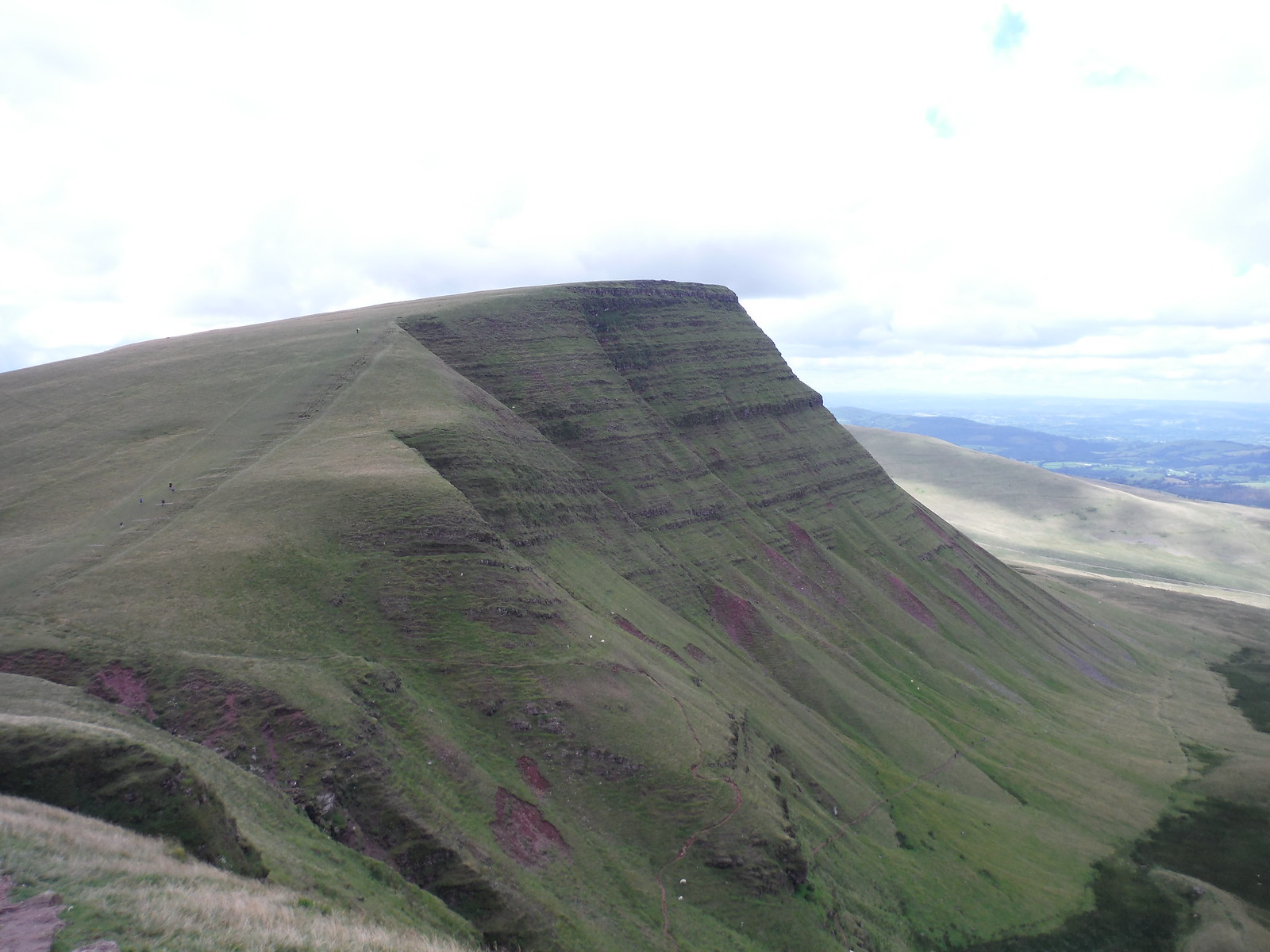 Picws Du, from Fan Foel SWC Walk 279 The Black Mountain - Y Mynydd Du (Glyntawe Circular)