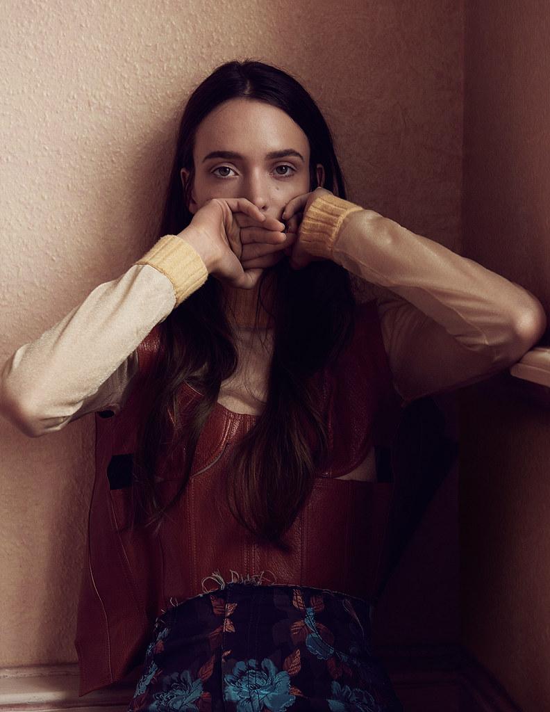 Стэйси Мартин — Фотосессия для «Interview» DE 2015 – 7