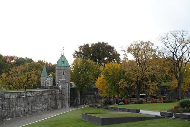 Porte Saint-Louis @ Fortification @ Québec