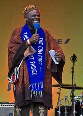 Usifu Jalloh, the Cowfoot Prince, Africa on the Square, Trafalgar Square, London, 15 October 2016