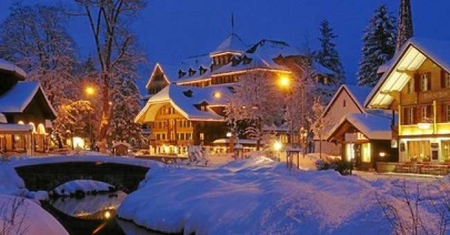 Kandersteg: po lyžování si zalezete v ledu