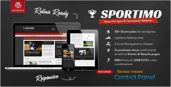 Sportimo v1.4.1 - Sport & Events Magazine Theme
