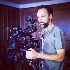 Trabajando en la cobertura de #MDQFEST @mdqfest #festival #cine #entrevista #interview #backstage
