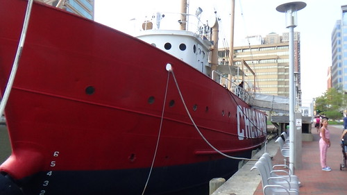 Baltimore Lightship Chesapeake Aug 15 1