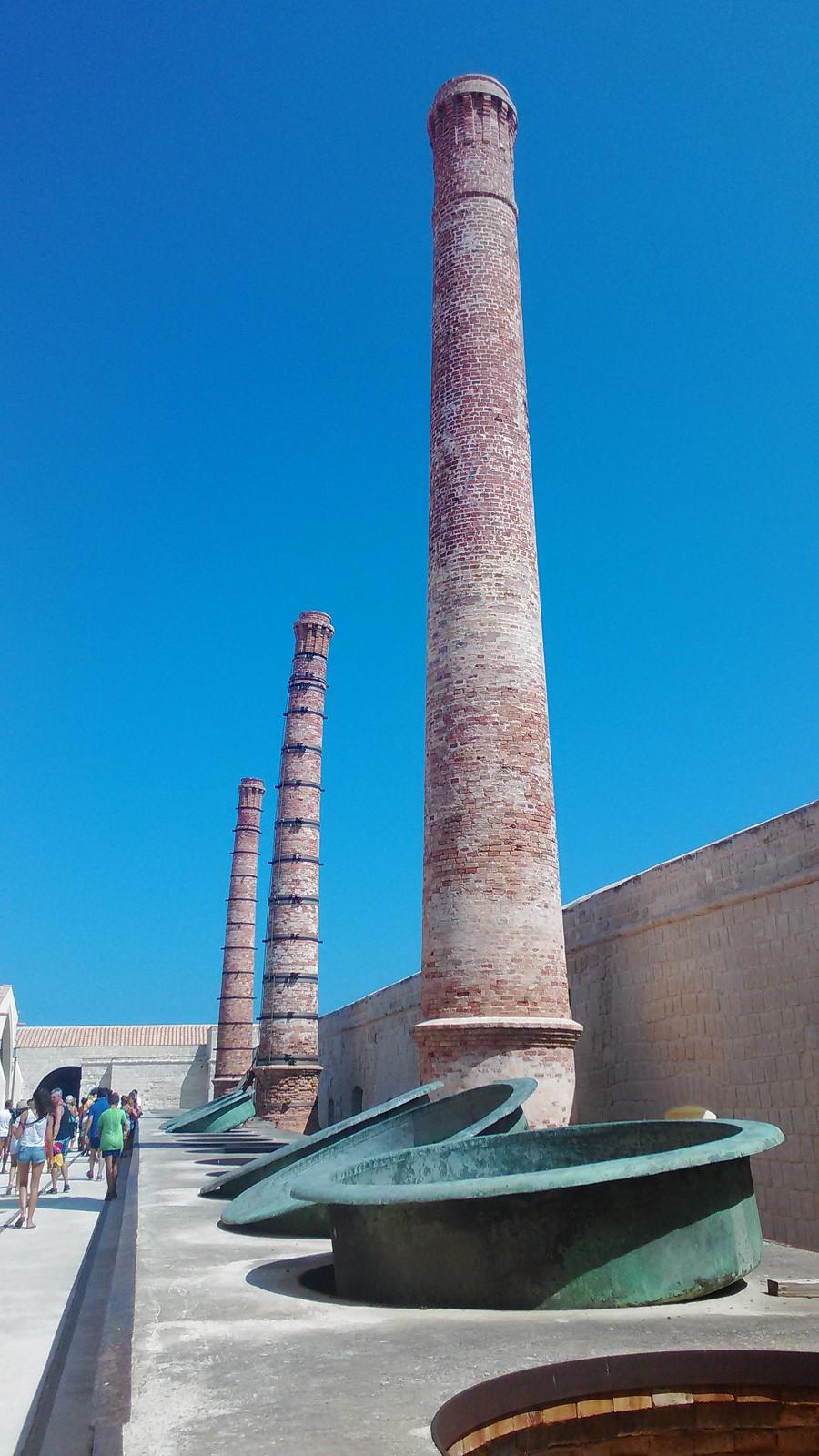 Grandi recipienti di cottura del Tonno