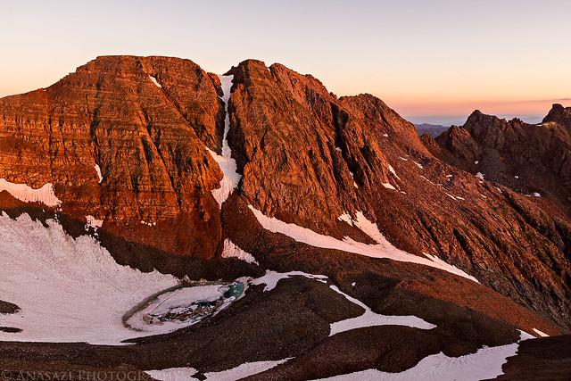 Conundrum Peak Sunrise