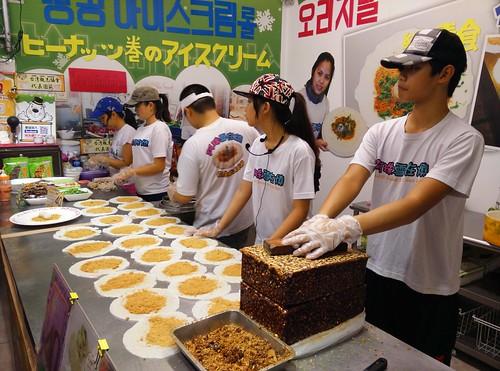 A-Zhu Peanut Ice Cream Roll