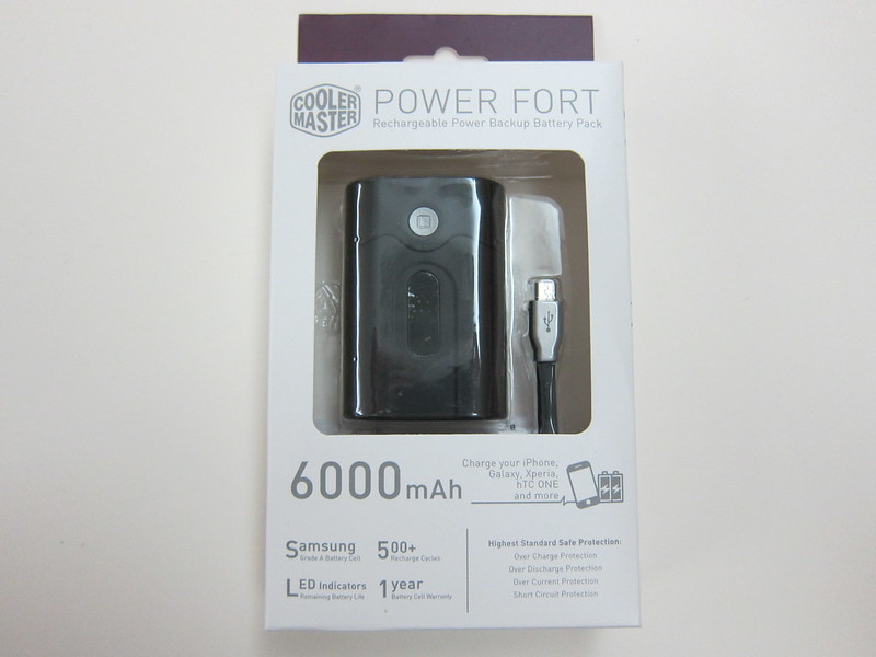 Cooler Master Power Fort 6,000mAh - Box Front