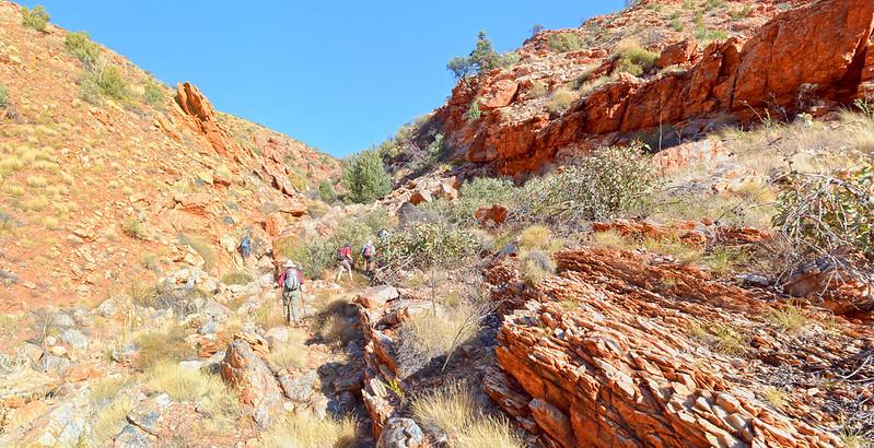 Spencer Gorge - Larapinta Trail