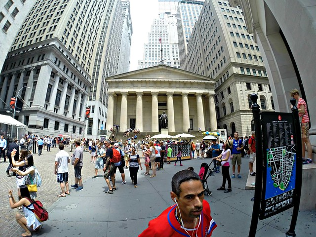 Federal Hall National Memorial, Wall Street, NY, July 2015