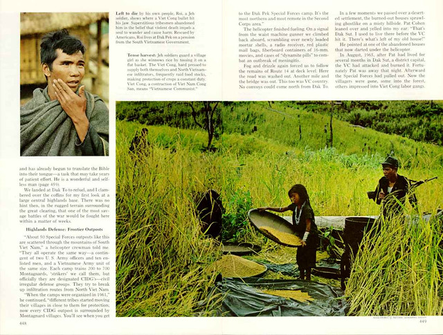National Geographic April 1968 (4) - VIET NAM'S  MONTAGNARDS