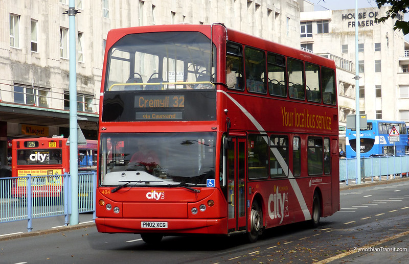 Plymouth Citybus 404 PN02XCG