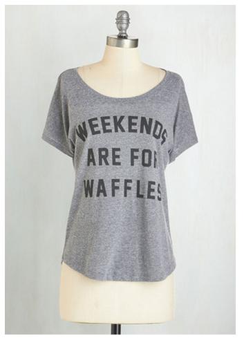 waffle shirt leslie knope
