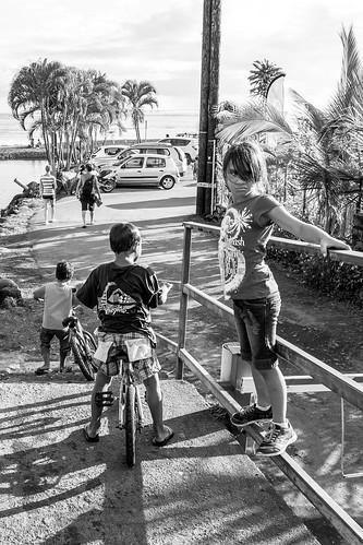 blackandwhite children child noiretblanc enfants tahiti pf polynésiefrançaise teahupoo îlesduvent
