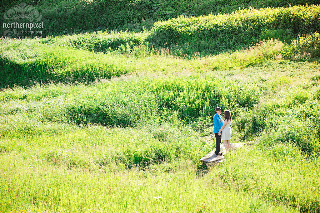 Moricetown Engagement Session - Smithers BC