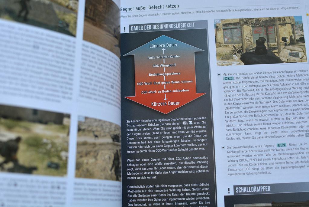 Metal Gear Solid V Lösungsbuch