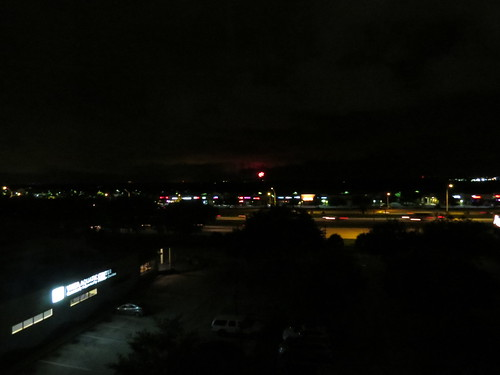We could see Magic Kingdom fireworks from our room