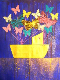 27 - Dali - Butterfly Ship - Laura