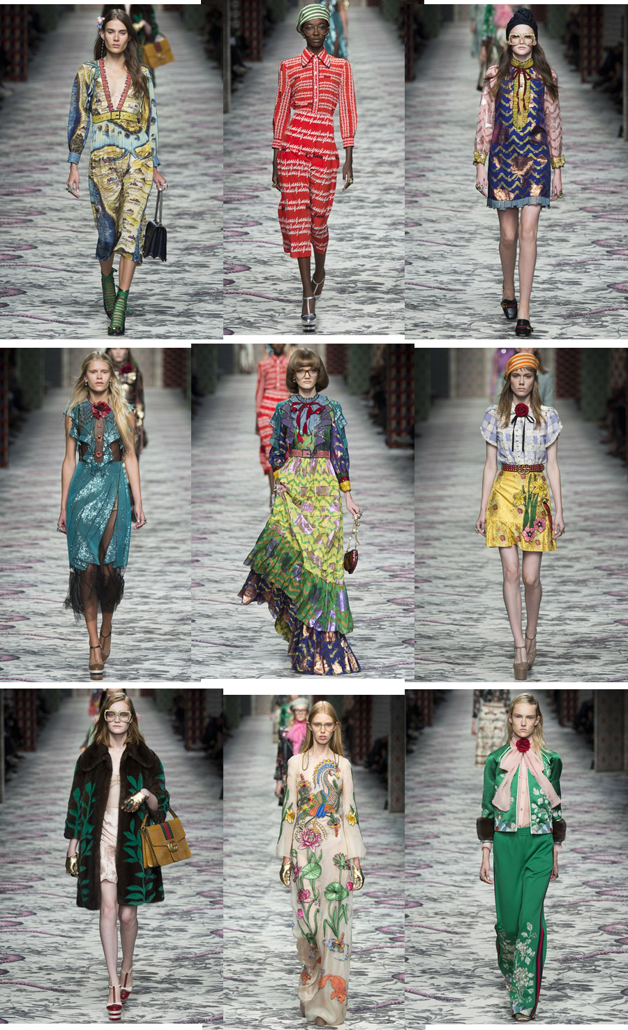 Gucci Spring Summer 2016 Collection