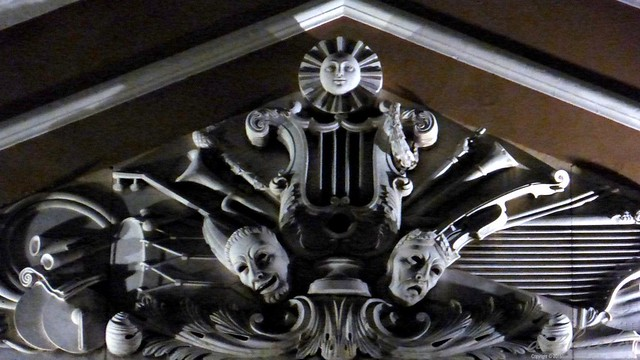 Belém 150919 071 Theatro da Paz Ópera concerto de encerramento máscaras frontal