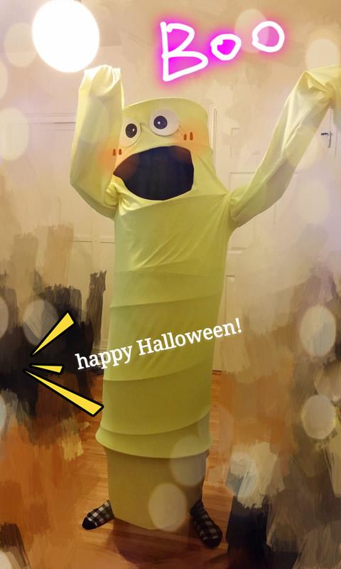 萬聖節,變裝,充氣娃娃,教學,Halloween,costume,DIY,Air Dancer Costume Tutorial,Air Dancer