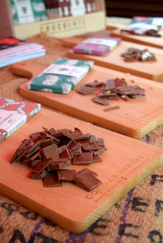 Icelandic Chocolate at Borough Market