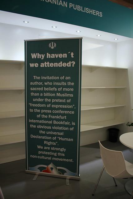 Iranian Publishers - Frankfurt Buchmesse 2015