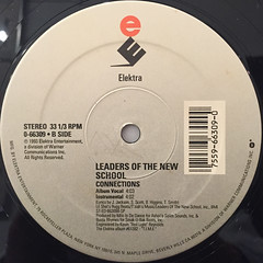 LEADERS OF THE NEW SCHOOL:WHAT'S NEXT?(LABEL SIDE-B)