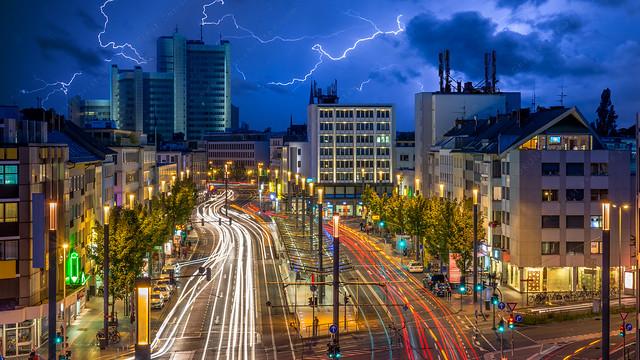Thunder storm over Bonn