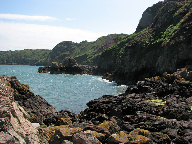 View east from Bouley Bay